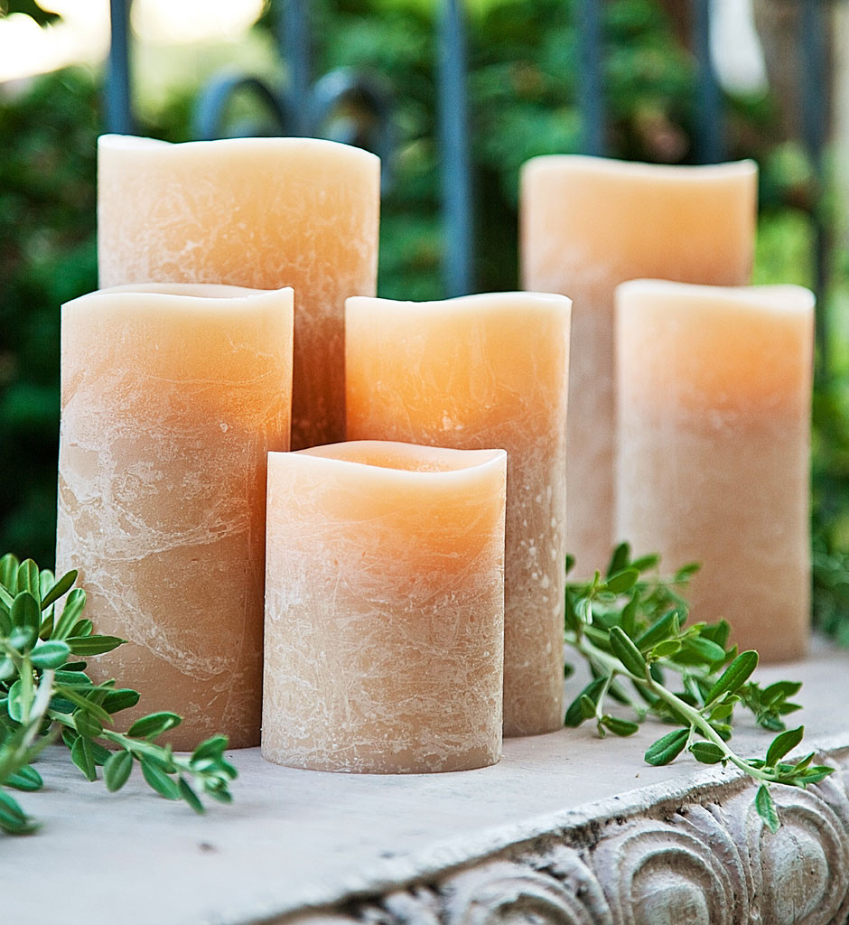 F-flameless candles uncomplicated, safe and varied