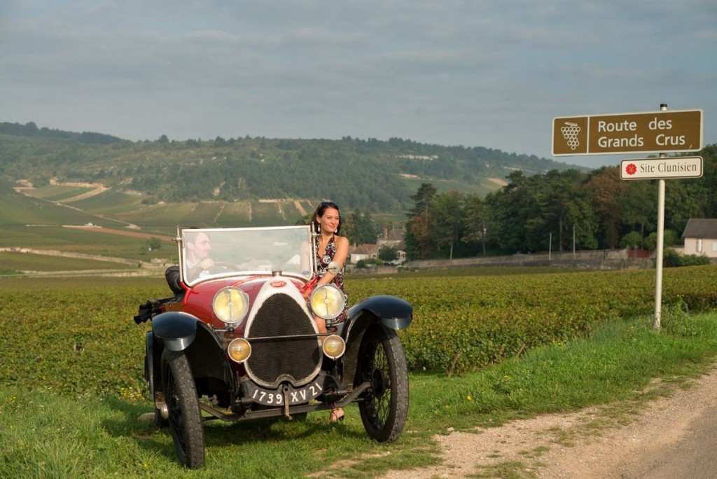 Route des Grands Crus route_des_grands_crus most beautiful routes for walking woman car vineyard