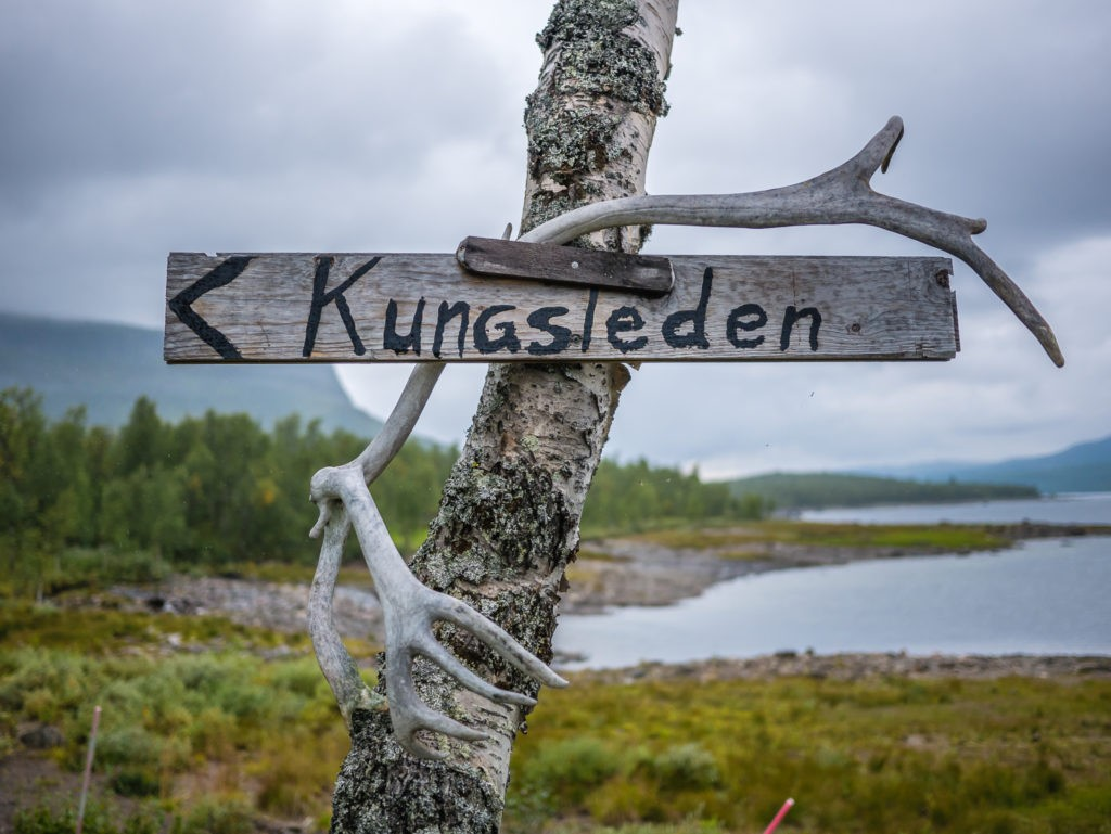 The path of the King Kungsleden route sweeden incredible journey into the arctic circle