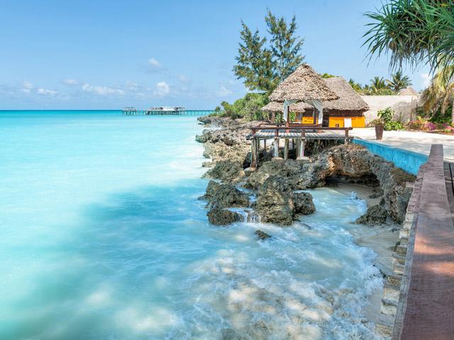 Zanzibar, Tanzania ocean blue water holiday villas cruises