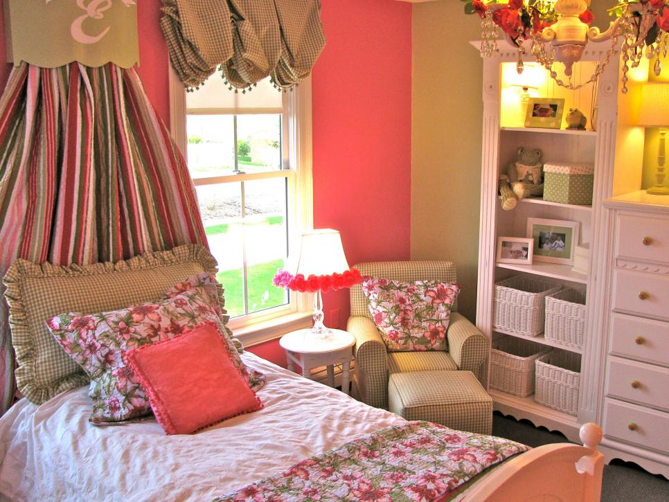 12-Elegant children's room-youth bedroom Girl