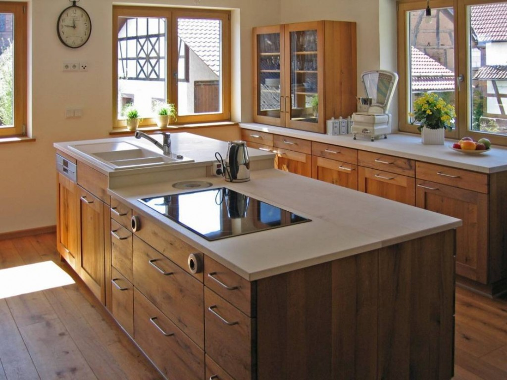 Home Ideas Kitchen country house style worktops wood-kitchen concepts