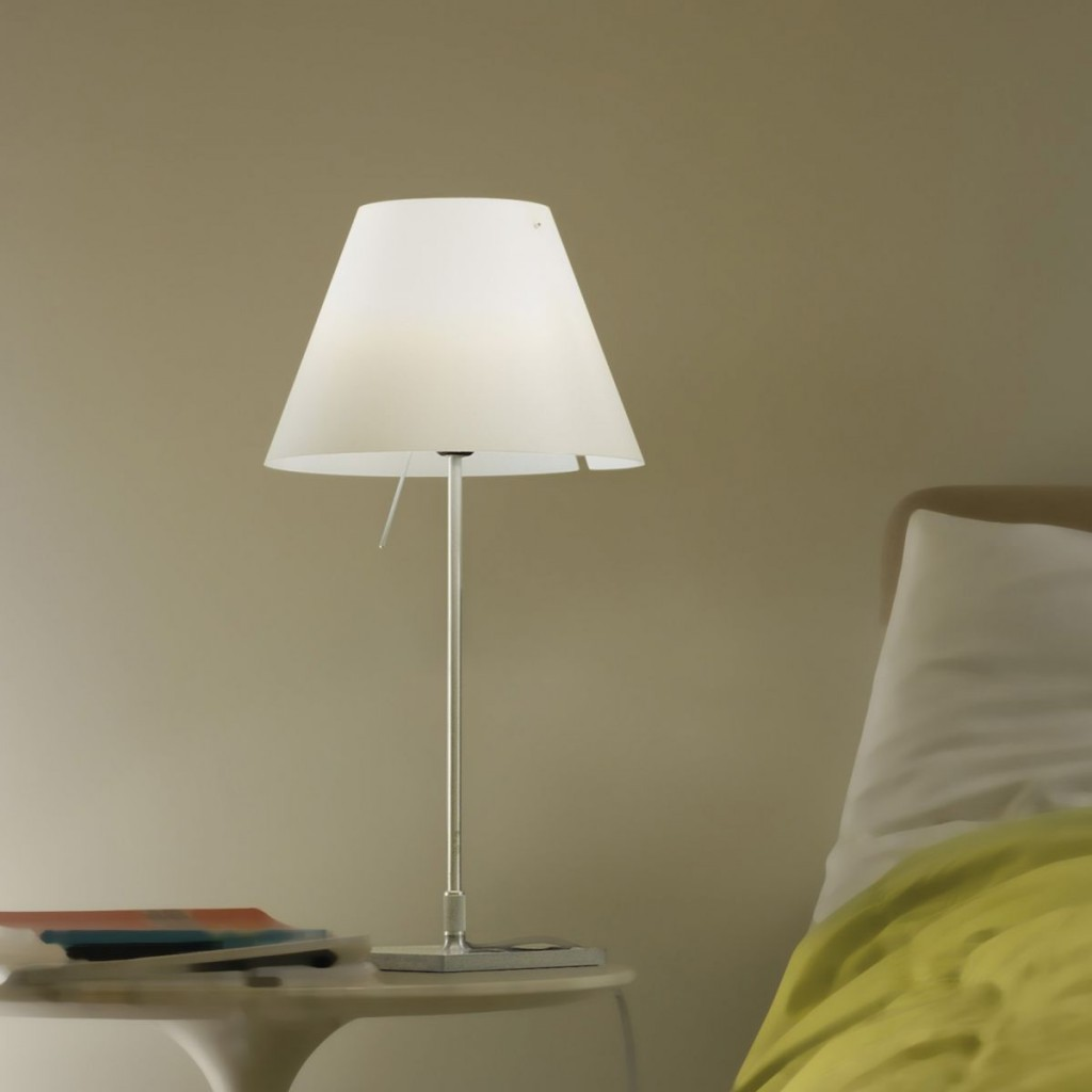 White Modern table lamps-modern lamps