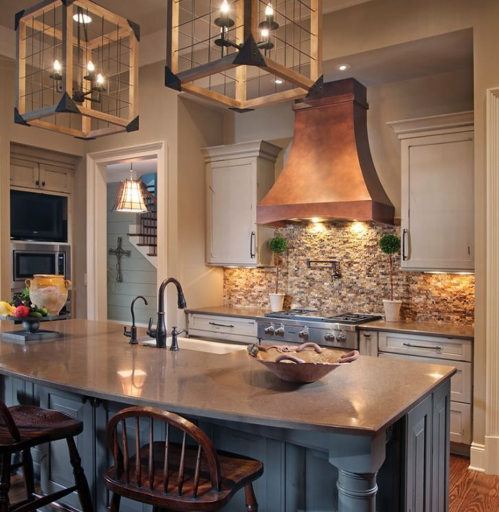 Copper finish interior trends copper kitchen warm finish designs autumn trends fall interior ideas