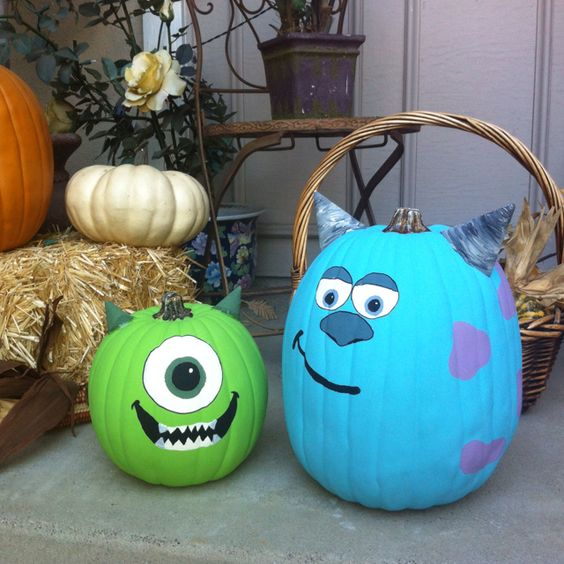 Creative Different Halloween Pumpkin Ideas Home Decor