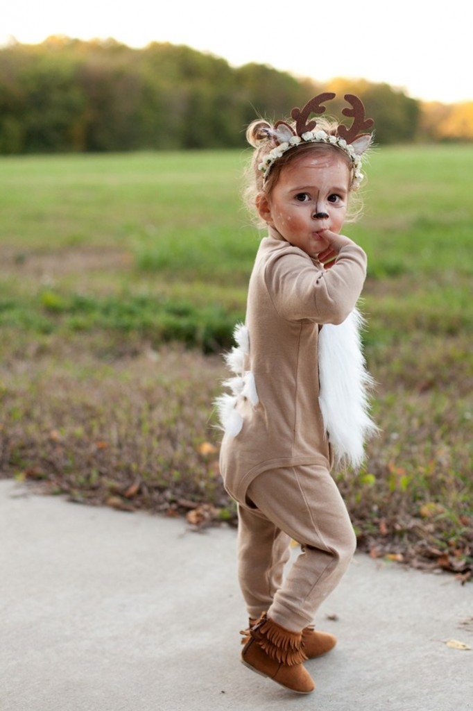 af55ace86988 Diy-Deer-Halloween-Girl-Costume-Halloween-costume-ideas- Sc 1 St PRE-TEND  Be Curious
