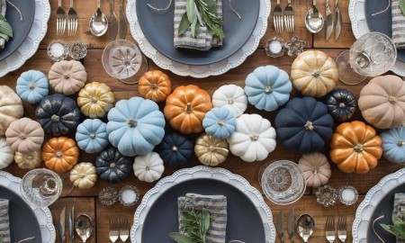 Fall Warm Colors Table Pumpkins fall table decorations autumn table decorations easy thanksgiving centerpieces fall décor simple inexpensive fall table decorations fall table settings