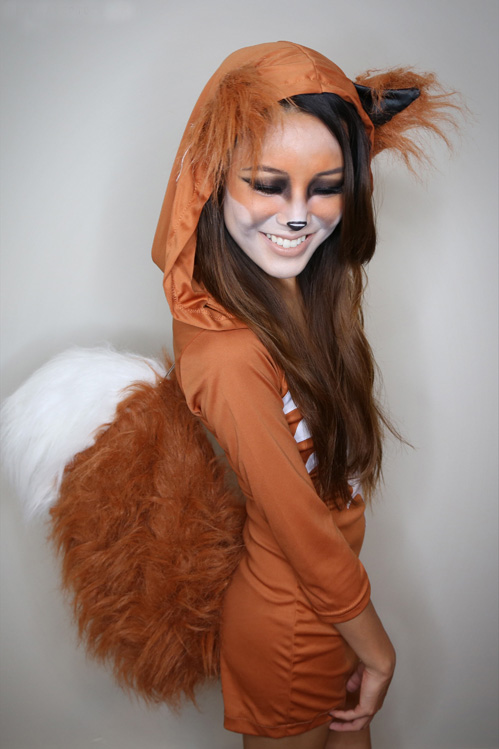 Fox-Woman-Halloween-Costume-and-Makeup-Halloween-costume-ideas--Costume-ideas-Baby-Halloween-costumes-Halloween-ideas