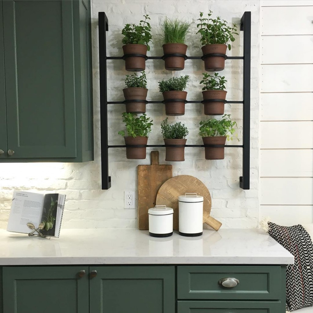 Kitchen Window Herb Planter: Indoor Herbs Garden Ideas