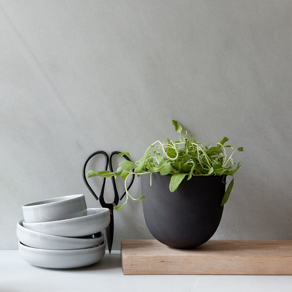 Grey Wall Herbs Dishes growing herbs indoors herb garden window herb garden kitchen herb garden growing herbs herb planter indoor