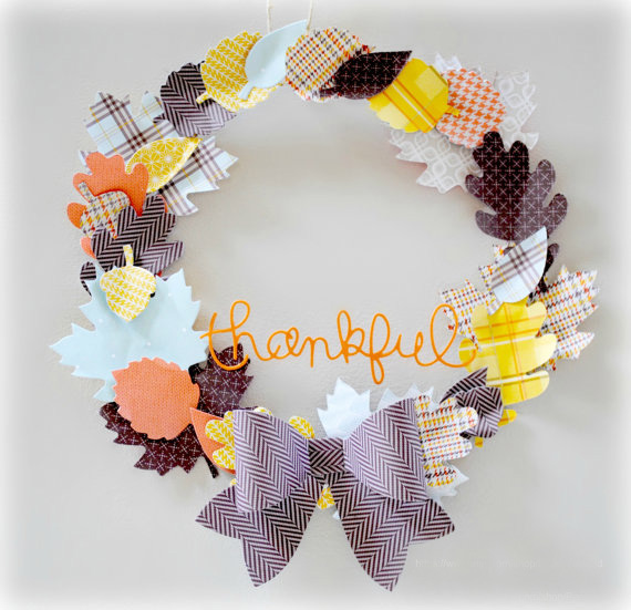 Paper-DIY-made-Door-Wreath-Thanksgiving-thanksgiving-decorations-thanksgiving-home-decorations-thanksgiving-ornaments-thanksgiving-door-decorations
