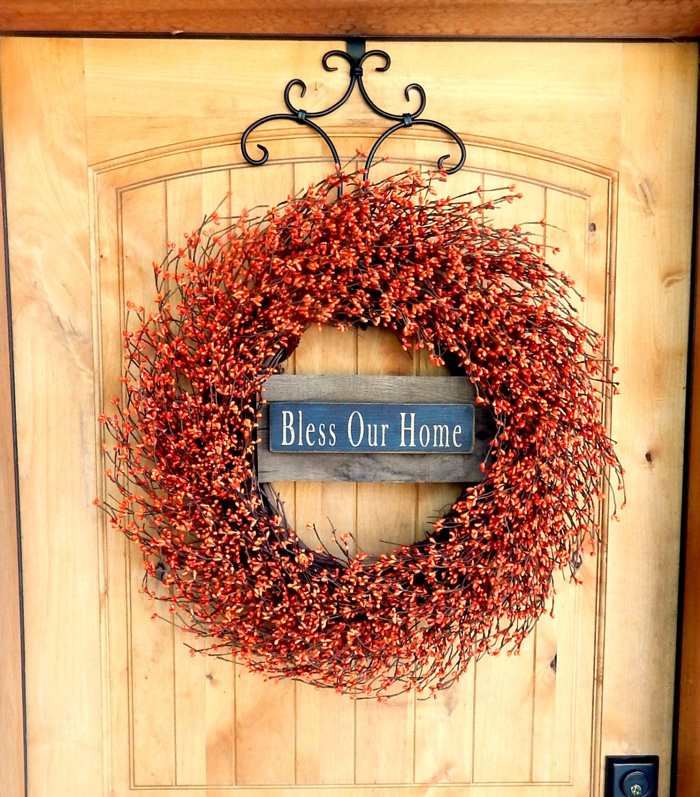 Thanksgiving-Door-Wreath-Bless-Our-Home-thanksgiving-decorations-thanksgiving-home-decorations-thanksgiving-ornaments-thanksgiving-door-decorations