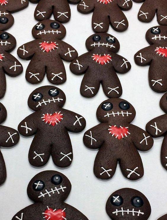 heartbroken halloween cookies funny food