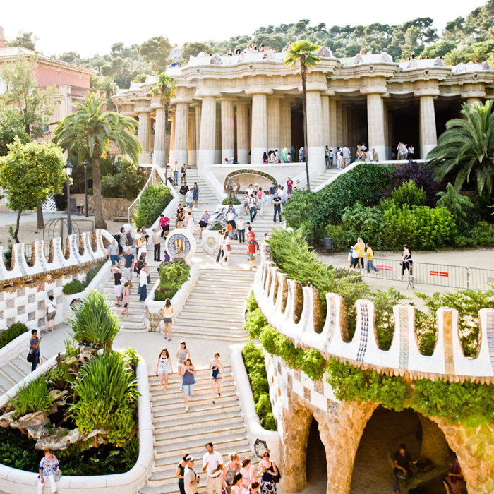 Gaudi-designed-Park-Güell-Barcelona-Spain-solo-vacations-solo-travel-companies-places-to-travel-alone-solo-female-travel-solo-travel-destinations