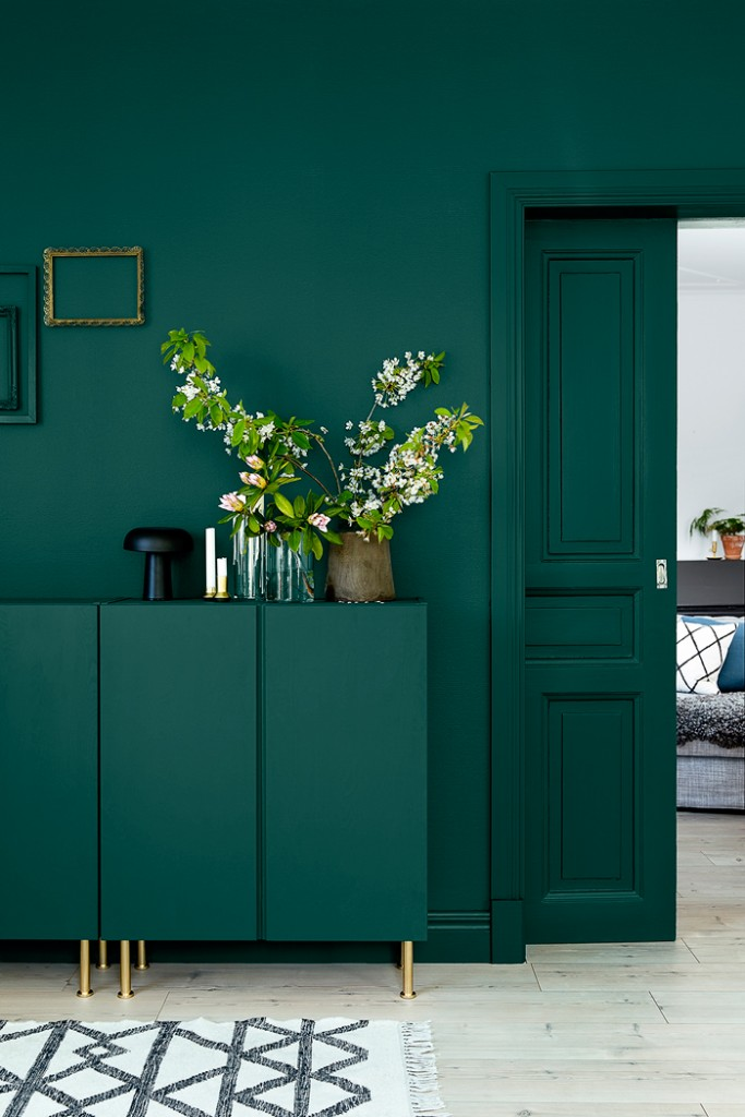 Green Hallway Interior Design Colors Color Palette Colour