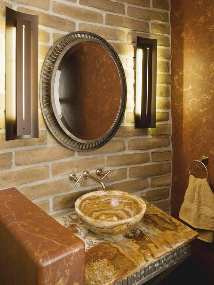 Metallic-Bathroom-Interior-Accents-Metallic-Mirror-Frame