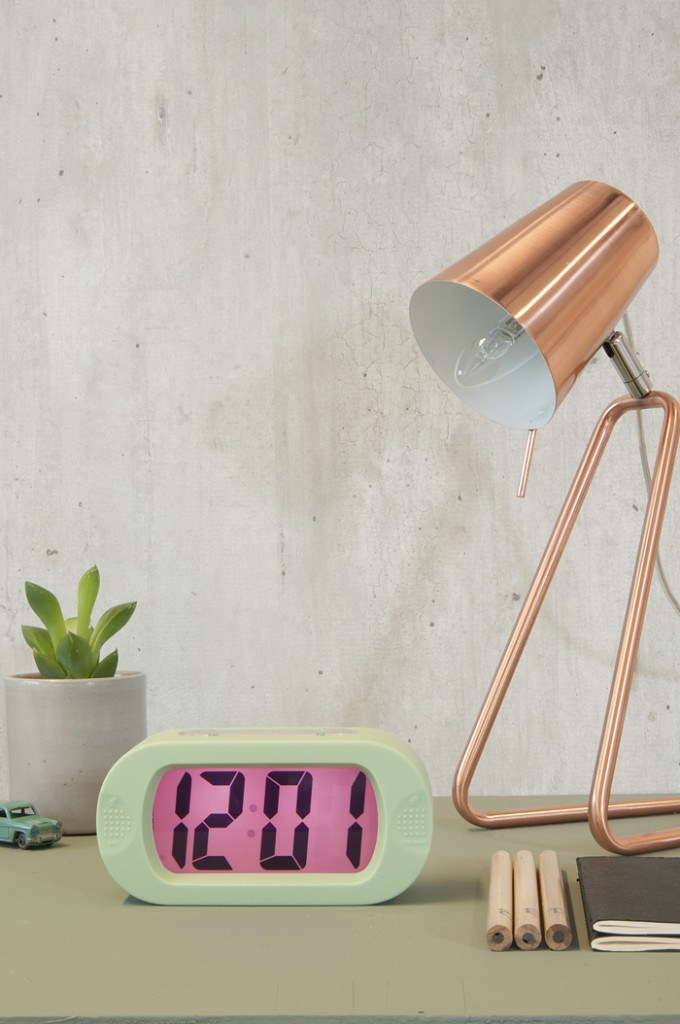 Metallic-Table-Lamp-Interior-Accents-Table-Lamps-Industrial-Look-Bed-Clock