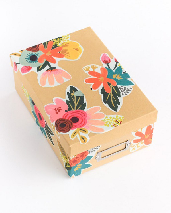Paper-Storage-Box-Floral-Flowers-paper-art-wall-decoration-with-paper-paper-cutting-art-and-craft-with-paper-wall-art-ideas-paper-art-design-paper-decorations-simple-paper-art-wall-art