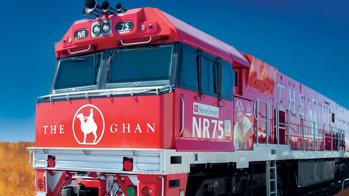 The-Ghan-Train-Front-Red-Train-Australia-Train-train-travel-rail-travel-great-train-journeys-train-vacations-packages-best-train-trips-scenic-railroad-trips