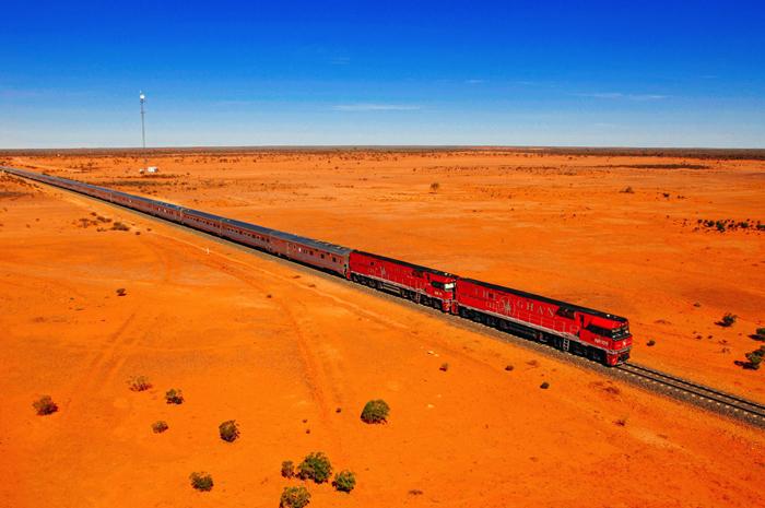 The-Ghan-Train-Line-Australia-Trains-Journeys-Across-Desert-train-travel-rail-travel-great-train-journeys-train-vacations-packages-best-train-trips-scenic-railroad-trips