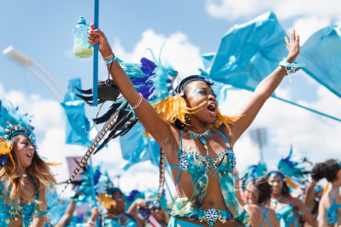 Trinidad-and-Tobago-Carnival-Celebration-Happy-Woman-in-Blue-Costume-carnival-festival-carnival-party-carnival-events-local-carnivals-carnival-cruise