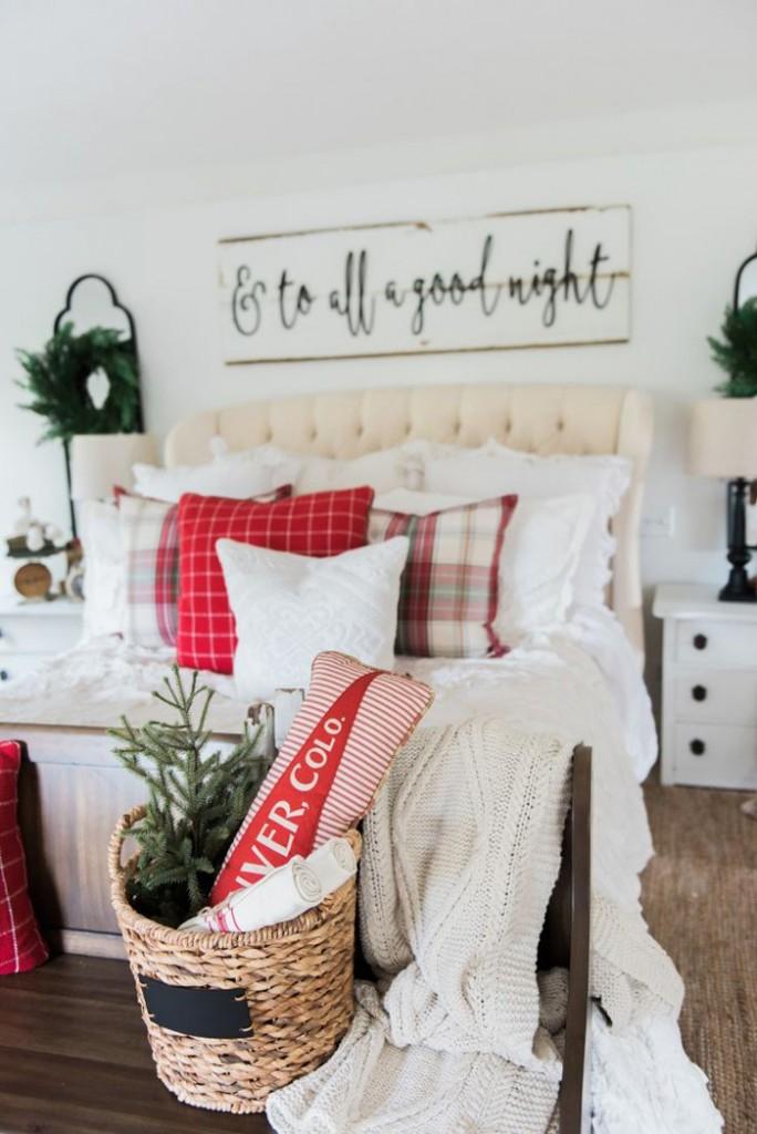 Bedroom-Christmas-Decor-DIY-Christmas-Decoration-Ideas