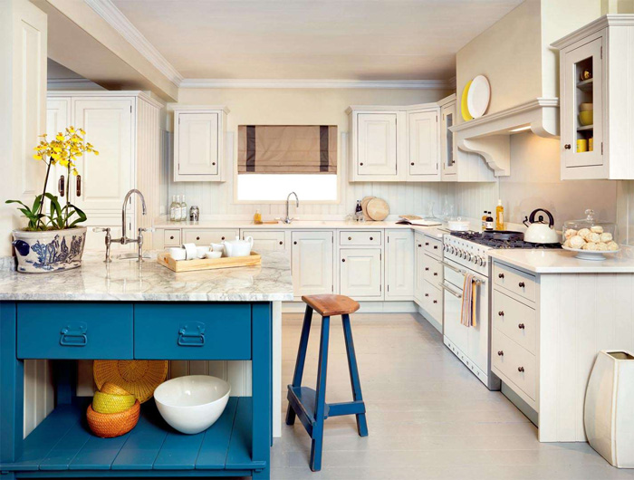 Blue Kitchen Island Ideas Brgth Kitchen Kitchen Island