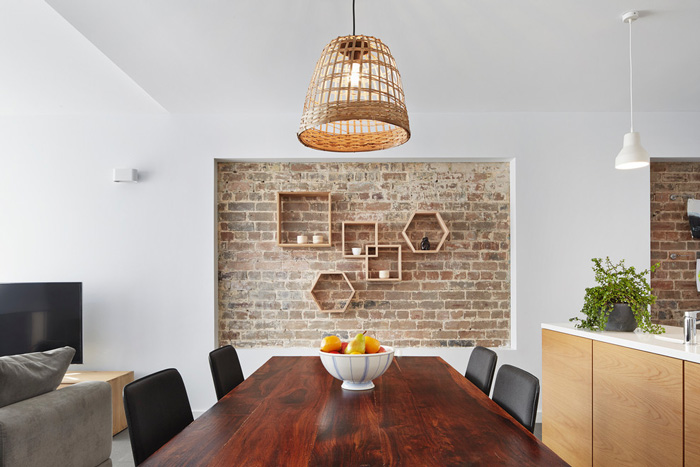 Exposed-Brick-Wall-in-Dining-Room-Natural-Decor-Home-home-decor-items-natural-décor-living-room-decor-home-accents-home-decor-accessories