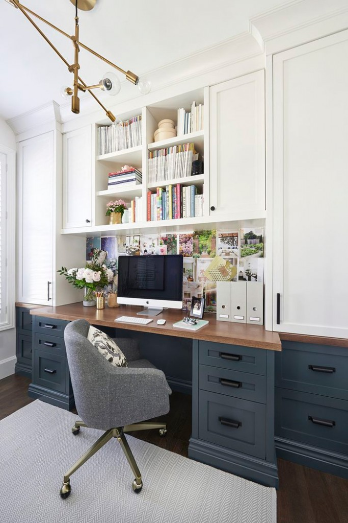 Feminine-Home-Office-Brigh-Workplace-Wooden-Desk-home-office-feminine-home-office-home-office-ideas-home-office-desk-home-office-design
