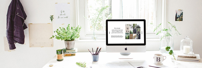 Feminine-Home-Office-Green-Workspace-Bright-Office-White-desk-Flowers-home-office-feminine-home-office-home-office-ideas-home-office-desk-home-office-design