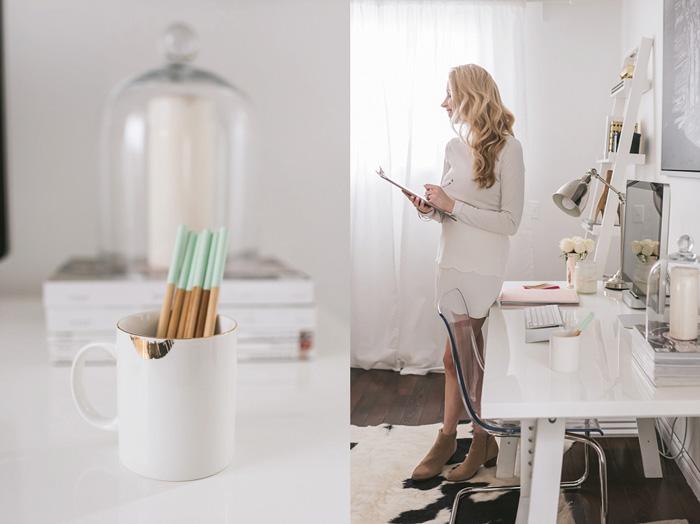 Feminine-Worplace-Office-White-Desk-home-office-feminine-home-office-home-office-ideas-home-office-desk-home-office-design