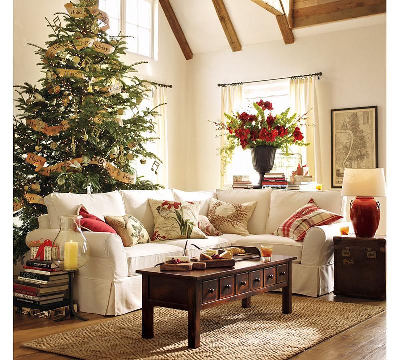 Festive-Christmas-Sofa-with-аChristmas-Pillows-christmas-diy-christmas-home-décor-christmas-decoration-ideas-christmas-mantel-decorations