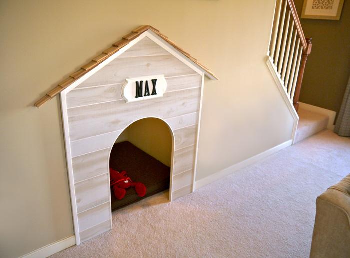 Interesting-Dog-Indoor-House-Bed-Design-Inside-Stairs-dog-house-wooden-dog-house-pet-beds
