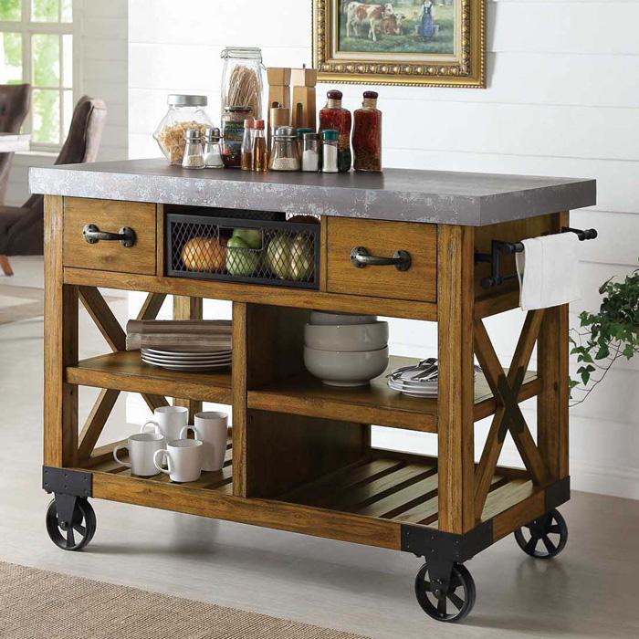 Massive-Wooden-Kitchen-Island-on-Wheels-kitchen-island-designs-kitchen-carts-and-islands-kitchen-island-with-storage