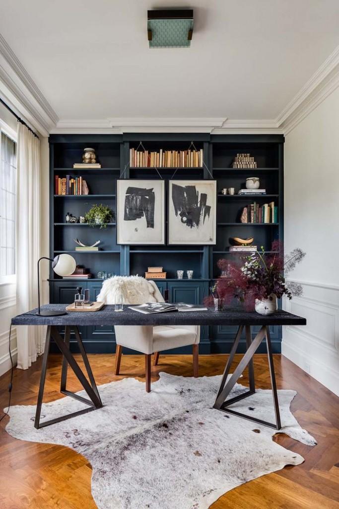 Modern-Feminine-Dark-Desk-Feminine-Workplance-home-office-feminine-home-office-home-office-ideas-home-office-desk-home-office-design
