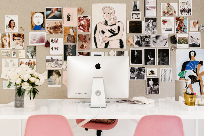 Fabulous Feminine Home Office Design Ideas Pre Tend Be Curious