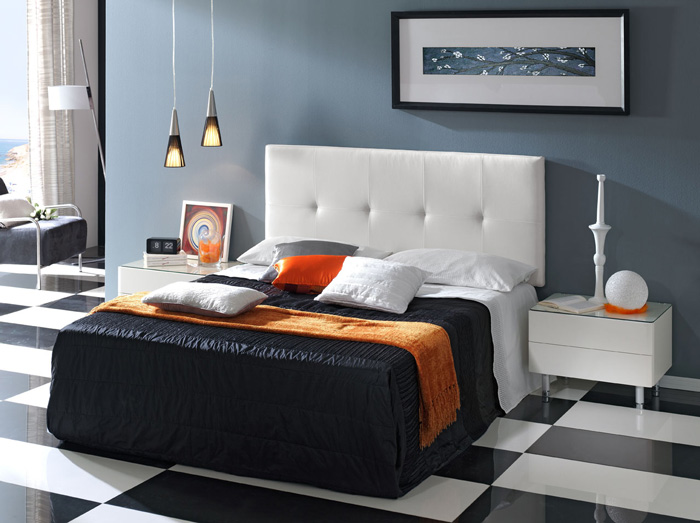 Modern-Headboard-King-Headboard-Black-And-White-Floor-Bedroom-Furniture
