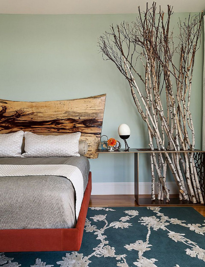 Modern-Wooden-Interesting-Headboard-Natural-Look-Bedroom