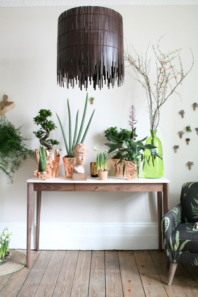 Natural-Home-Accessories-Natural-Home-Decor-Wooden-Lamp-Plants-Indoor-Wooden-Table