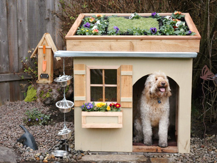 Original-Outdoor-Dog-House-Roof-Garden-Bog-Dog-Houses-dog-house-wooden-dog-house-pet-beds