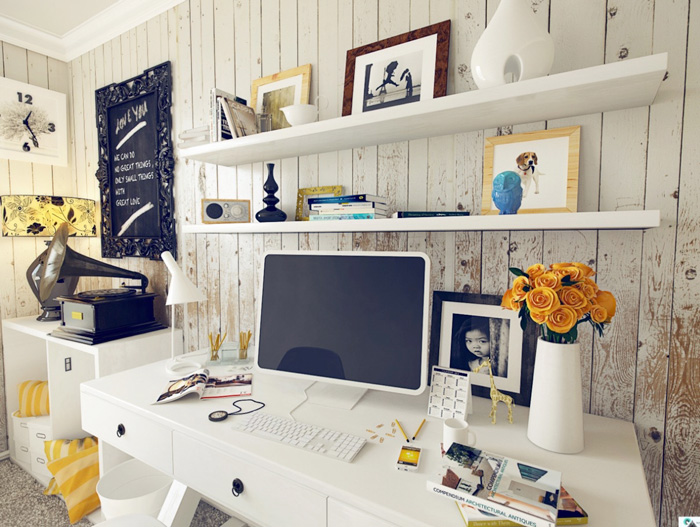 Rustic-Vintage-Feminine-Office-Vintage-Workplace-Cozy-Office-home-office-feminine-home-office-home-office-ideas-home-office-desk-home-office-design