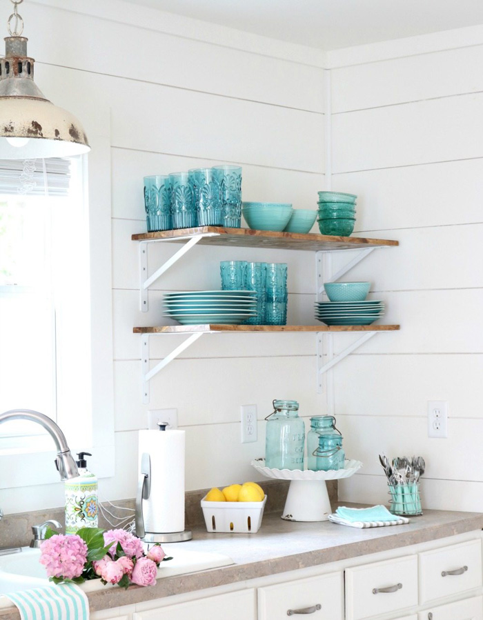 Cottage-Style-Open-Shelves-Kitchen-cottage-style-cottage-decor-cottage-style-décor-cottage-decorating-ideas