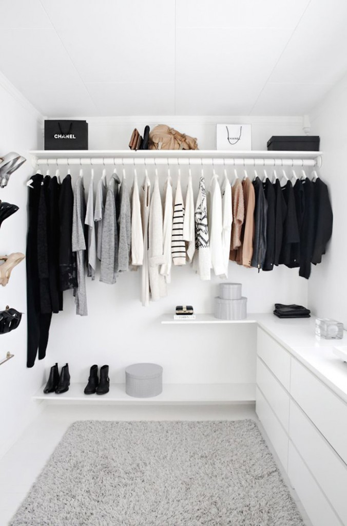 Monochrome-Closet-interior-design-trends-latest-interior-design-interior-design-trends-2018-hometrends-home-decor-trends