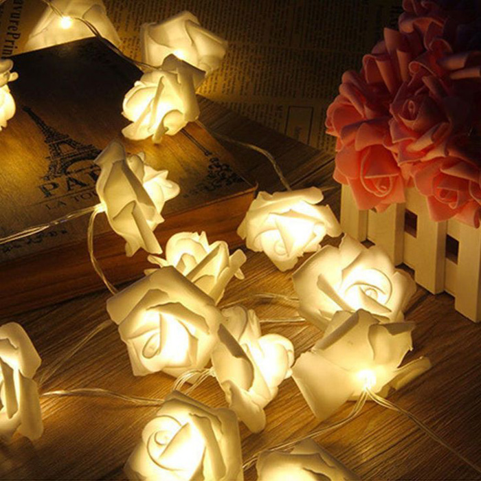 Outdoor-party-lights-outdoor-party-supplies-rose-lights-garden-lights