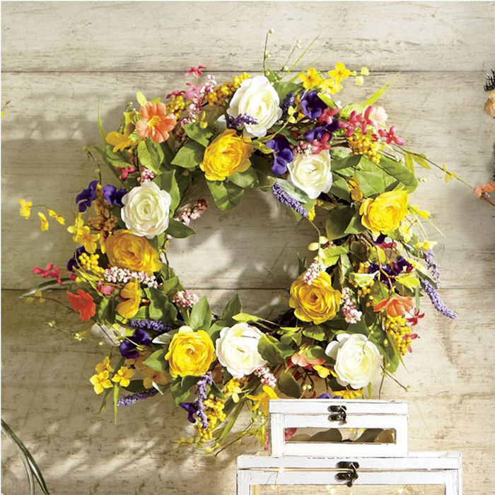 Spring-wreath-for-the-front-door-spring-decorations-colorful-wreath