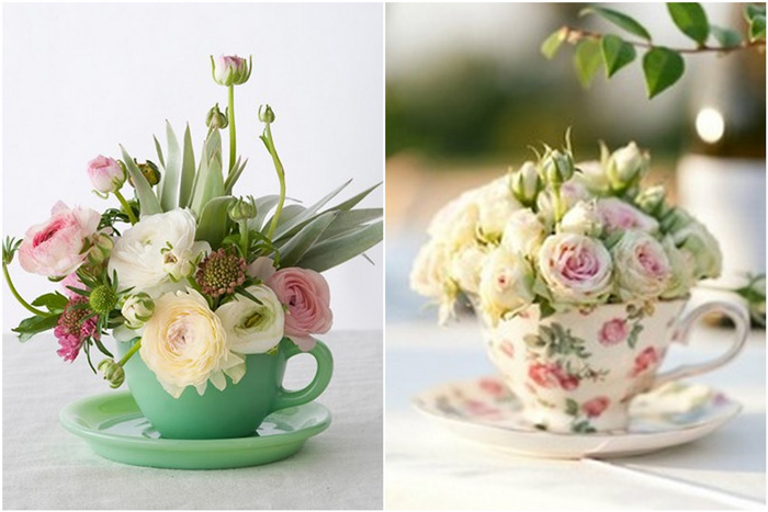Two-flower-tea-cups-living-room-accessories-romantic-cup-of-tea-with-gentle-flowers