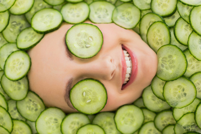 all-natural-cosmetics-cucumber-is-great-for-your-skin-skincare-with-vegetables