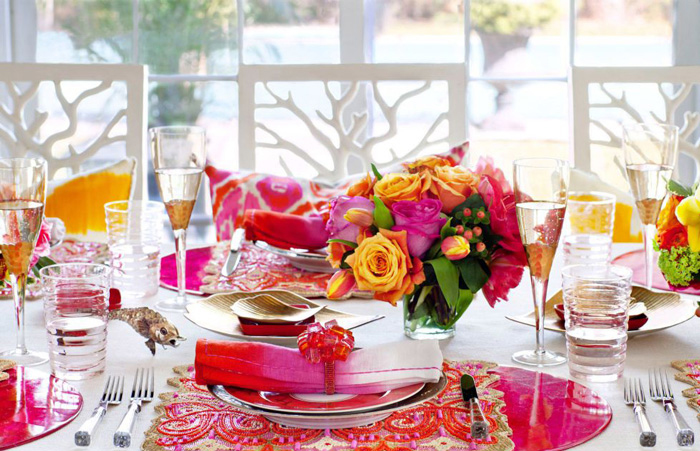 colorful-table-setting-spring-table-decorations-table-centerpieces-spring-table-decorations-table-decorations-centerpiece-ideas-simple-centerpieces pink set