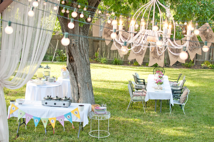 Spring Outdoor Party Decorations Pretend Magazine