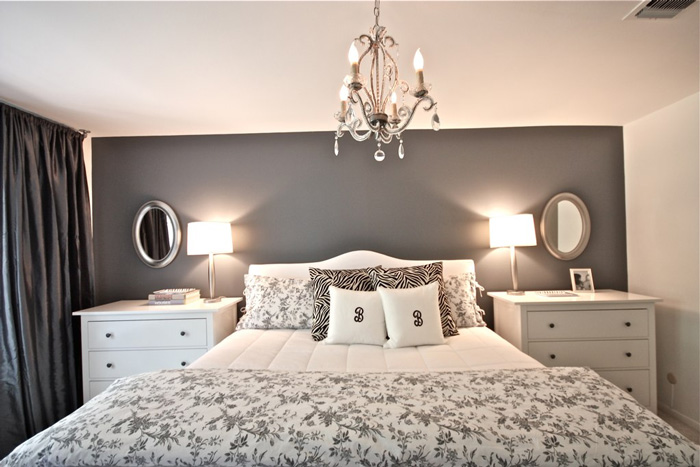 romantic-home-decor---bedroom-with-a-chandelier romantic bedroom ideas shabby chic furniture romantic room decoration
